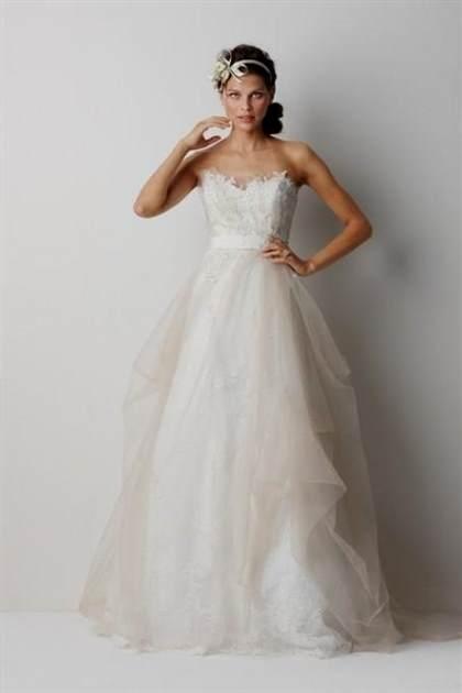 rustic chic wedding dress