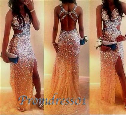 sexy back prom dresses