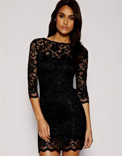 sexy black lace dresses