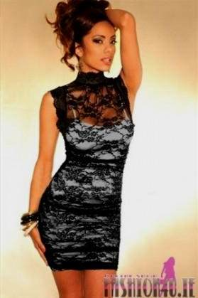 sexy black lace dresses