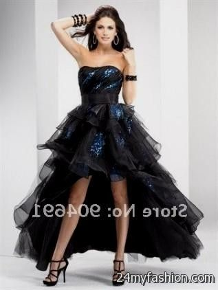 short black and purple prom dresses review