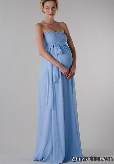 strapless maternity maxi dresses