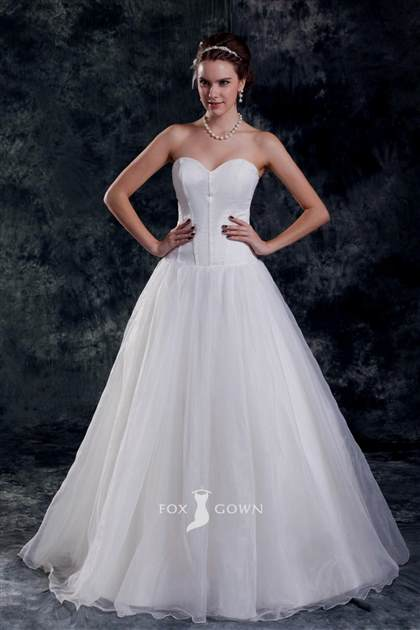 sweetheart corset ball gown wedding dress