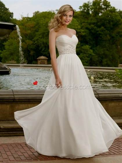sweetheart strapless wedding dress chiffon