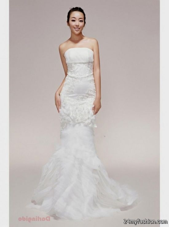 vera wang strapless wedding dresses review