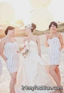 vertical striped bridesmaid dresses review