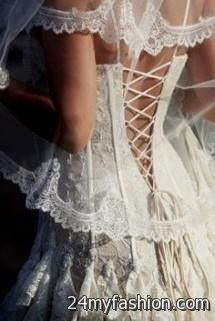 vintage lace corset wedding dresses review
