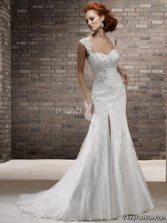 vintage wedding dresses with cap sleeves