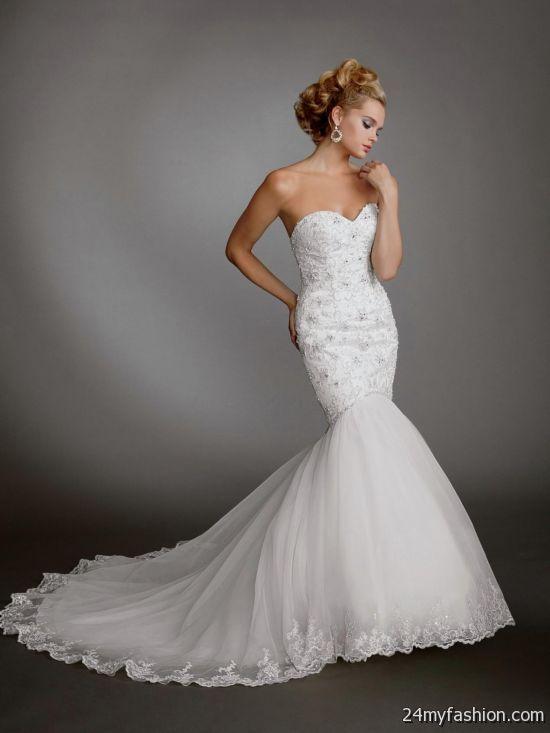 white mermaid wedding dresses review
