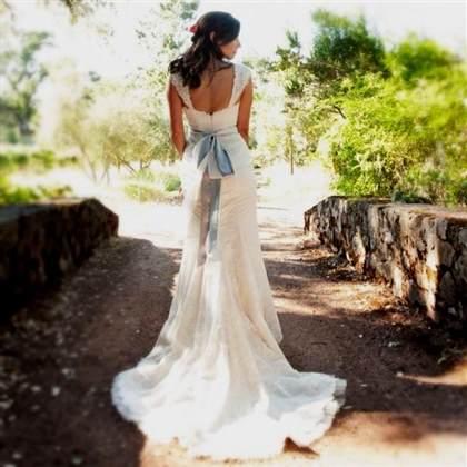 woodland fairy wedding dress