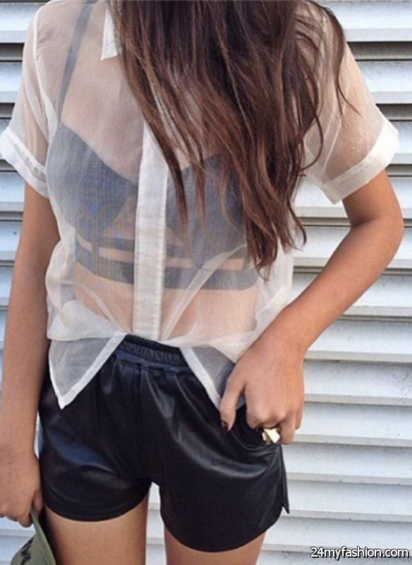 15 Ways To Style A Sheer Top 2019-2020