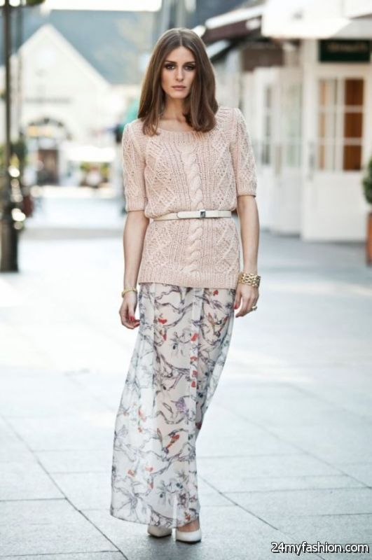 15 Ways To Style Your Maxi Dresses For Fall 2019-2020