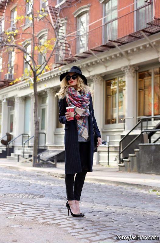 25 Ways To Wear A Scarf In Winter 2019-2020