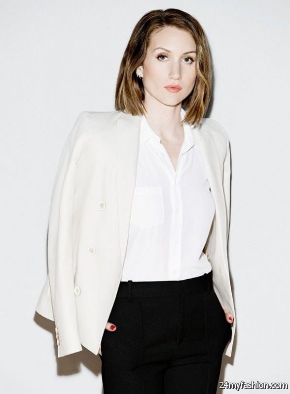 30 Inspiring Ways To Wear A White Blazer 2019-2020