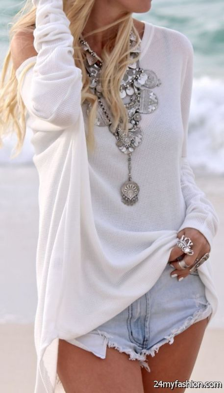 30 Ways To Style Chunky Necklaces 2019-2020