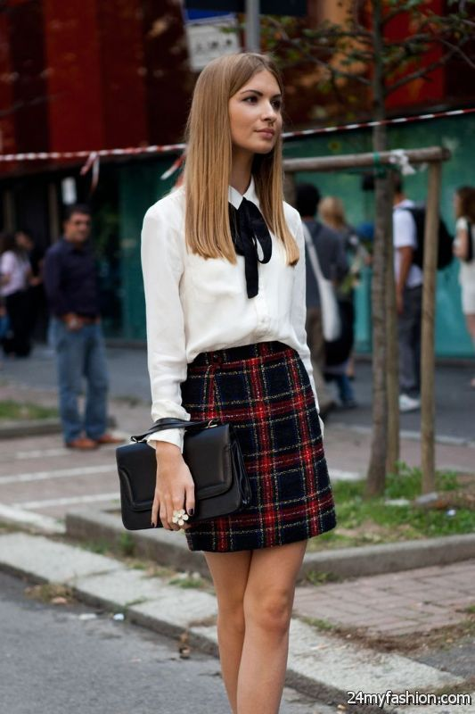 30 Ways To Wear A Mini Skirt In Winter 2019-2020