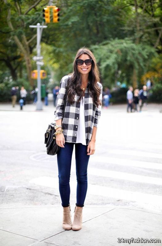 30 Ways To Wear Short Boots This Fall 2019-2020