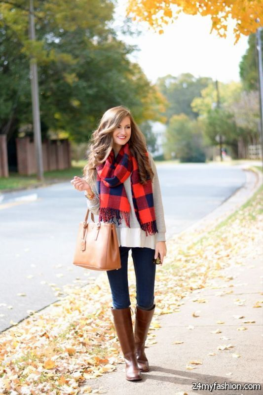 Best Looks Completed With Scarves 2019-2020