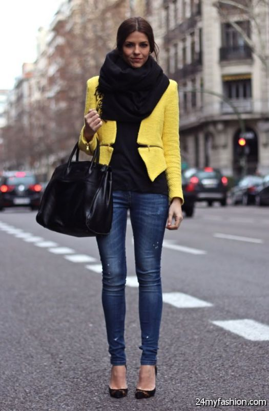 Business Attire: Women's Jeans For Office Work 2019-2020
