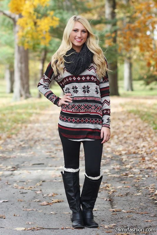 Casual Winter Outfits For Women 2019-2020