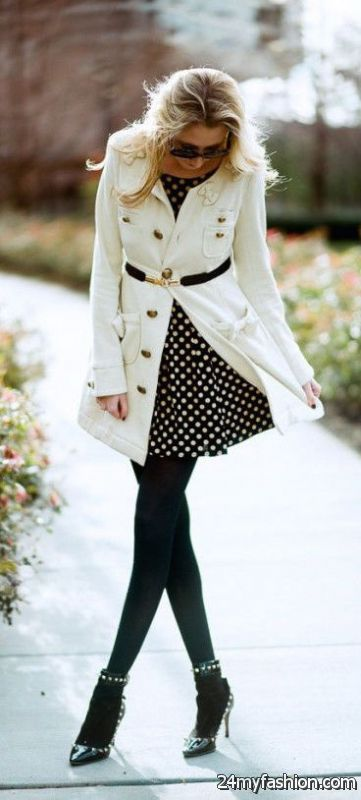 How To Pair Coats With Dresses 2019-2020
