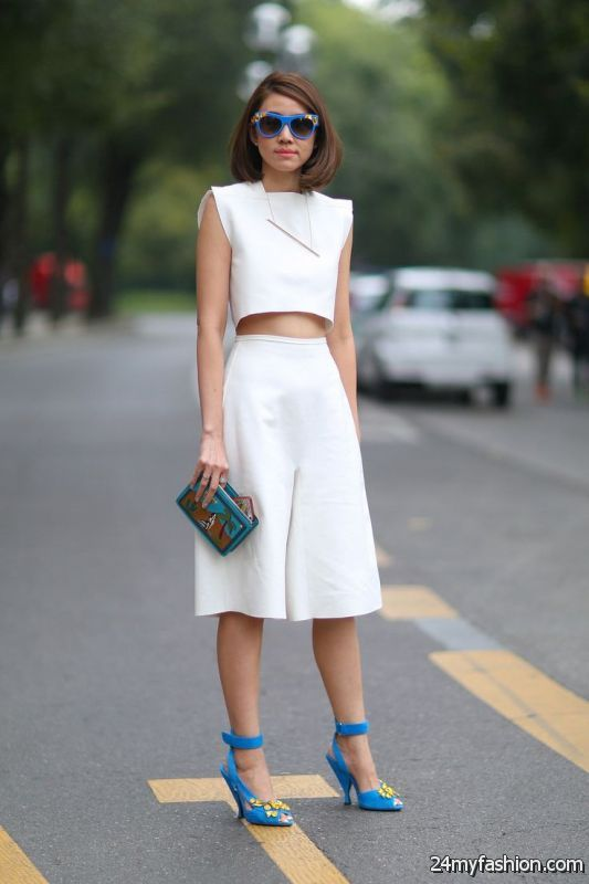 How To Wear All White Outfits This Year 2019-2020