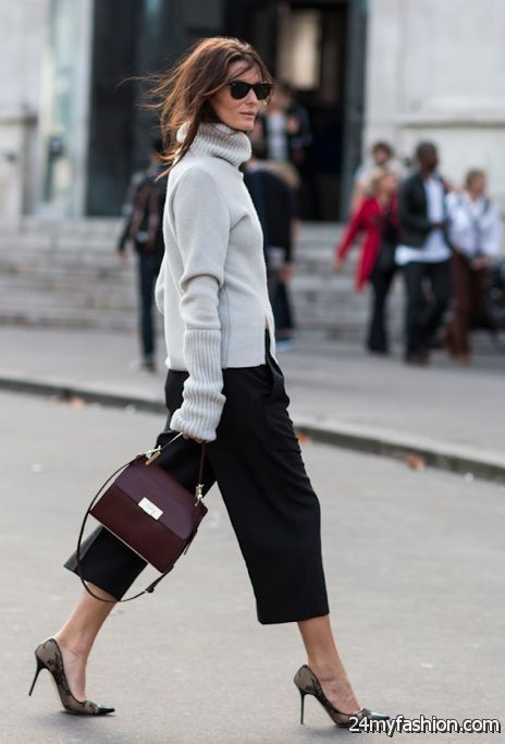 How To Wear Cropped Pants 2019-2020