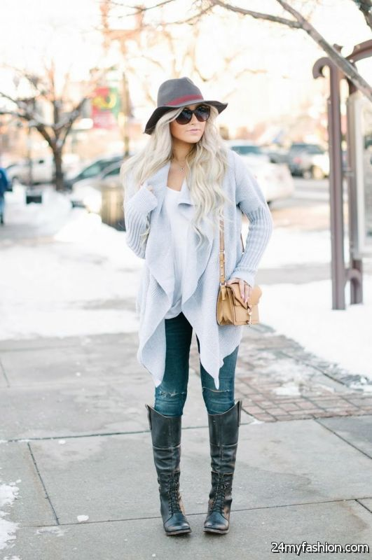 How To Wear Gray Color Clothes (Outfit Ideas) 2019-2020