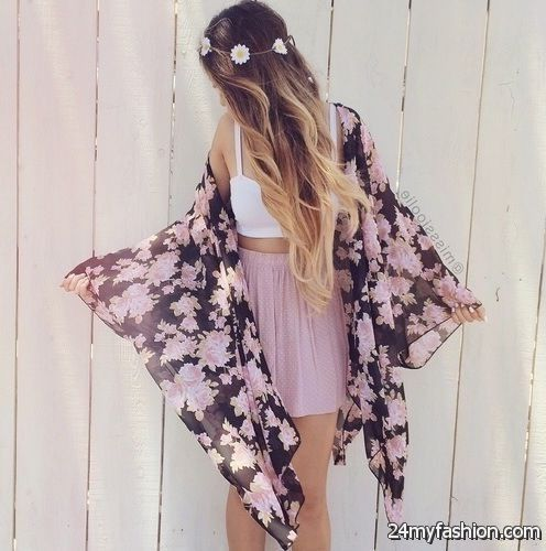 How To Wear Kimonos (Outfit Ideas) 2019-2020