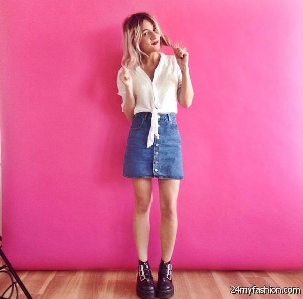How to Wear a Mini Skirt 2019-2020