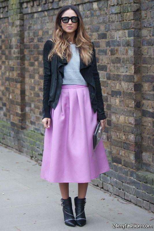Pink Skirts And How To Wear Them 2019-2020