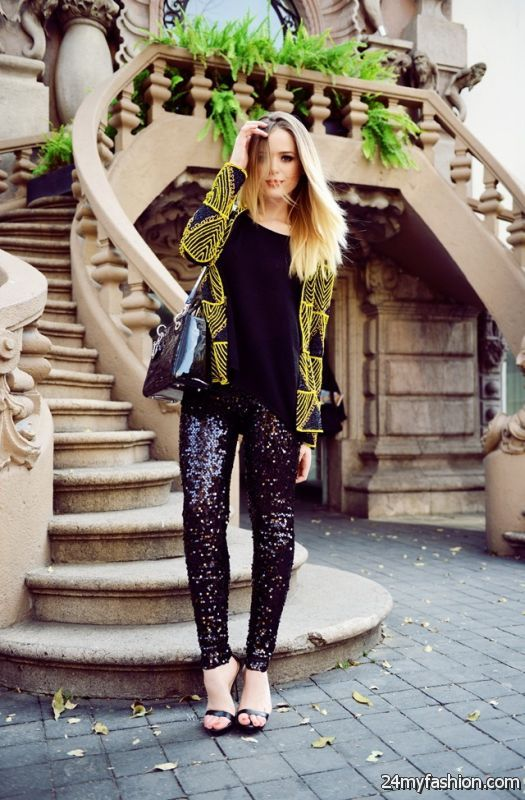 Sequin Outfit Ideas 2019-2020