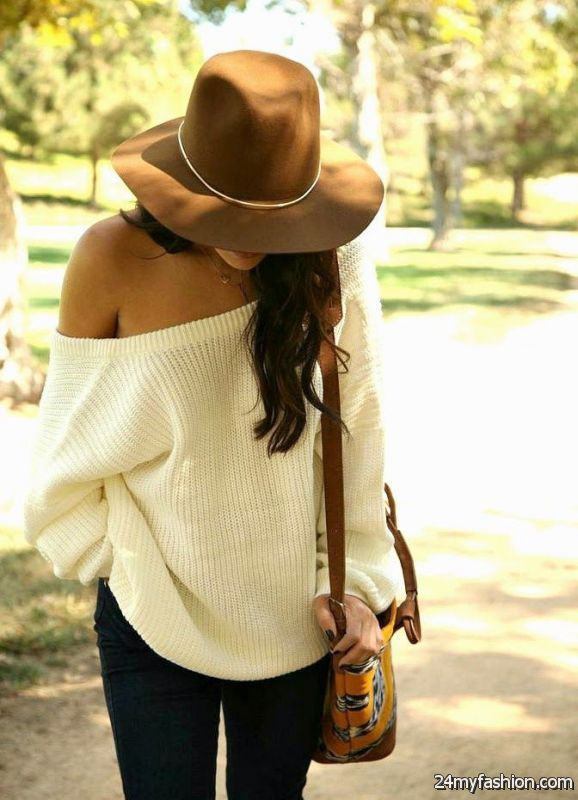 Style Ideas How To Wear Sweaters on The Streets 2019-2020