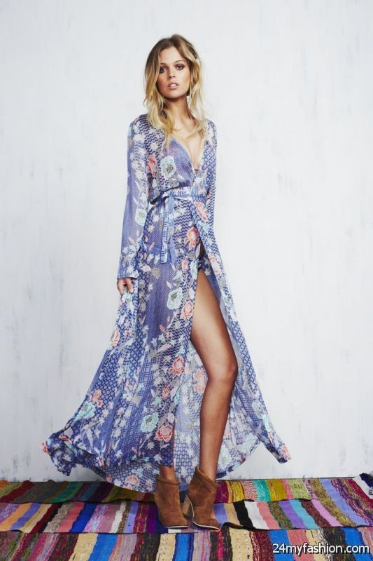 Summer Maxi Dresses Styles 2019-2020