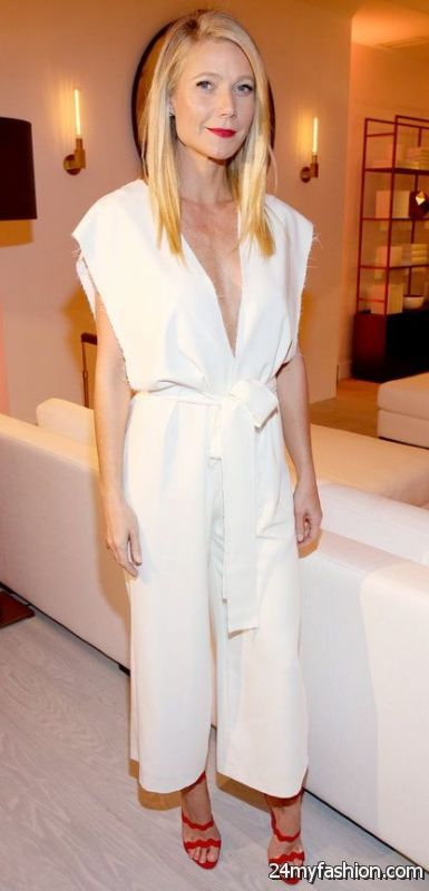 Timeless Fashion Trend: White Jumpsuits 2019-2020