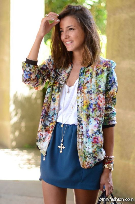 Trend Report: Printed Jackets For Women 2019-2020
