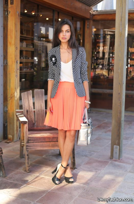 What To Wear With Pleated Skirts 2019-2020