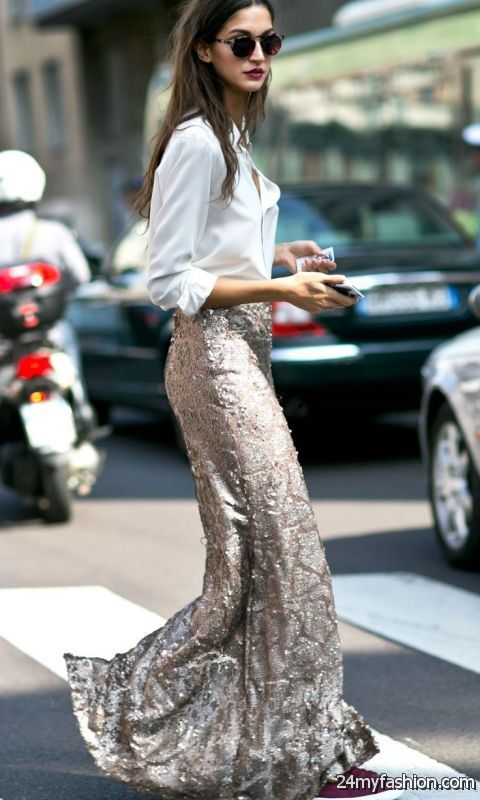 What To Wear With Sequin Skirts 2019-2020