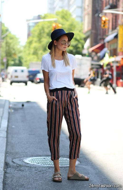 What To Wear With Striped Pants Outfit Ideas 2019 2020