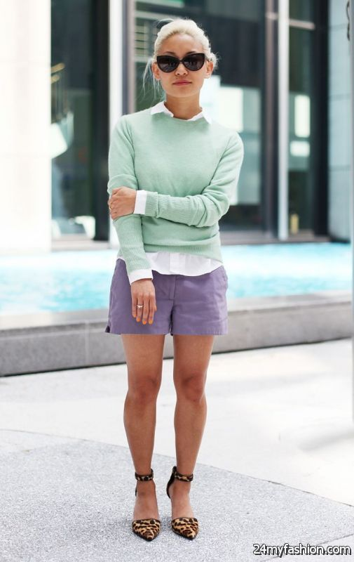Women's Formal Outfits With Shorts 2019-2020