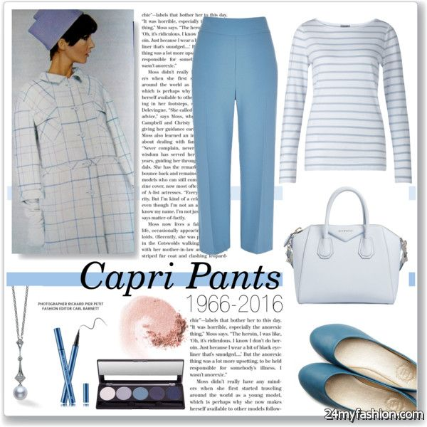 Best Tips For Women Over 50 On How To Wear Capris 2019-2020