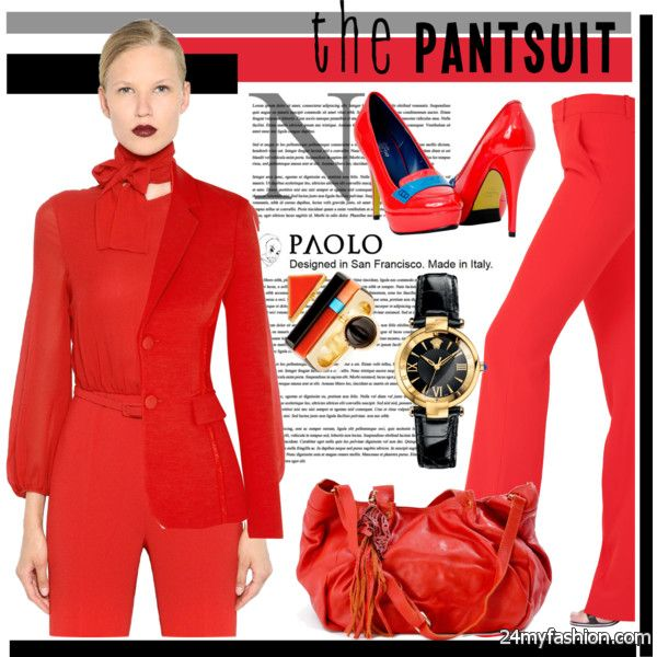 Examples Of What Pantsuits Can Women In 40 Wear Right Now 2019-2020