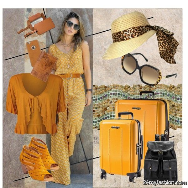 Fashion For 40 Old Women: Spring Travel Looks 2019-2020