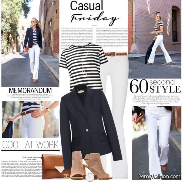 Ladies In 30 Can Look Pretty Chic In Spring Casual Outfits 2019-2020