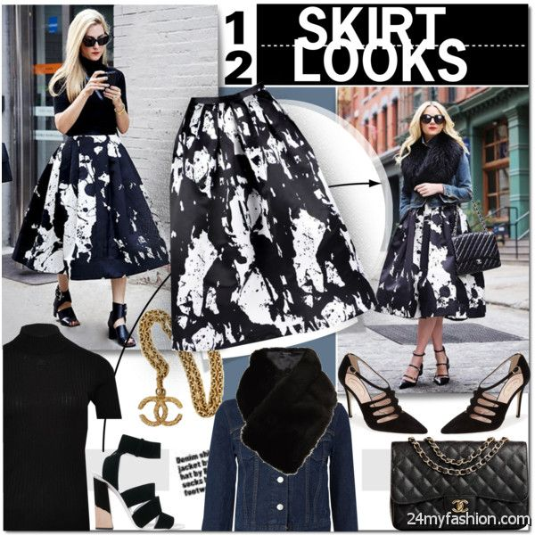 Women In 40 Fashion Tips: Best Combos With Skirts 2019-2020