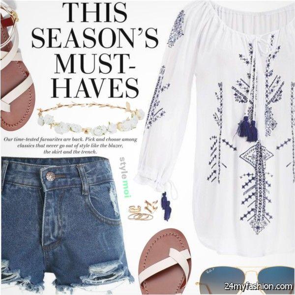 Women Over 40 Fashion Ideas: Best Shorts To Wear 2019-2020