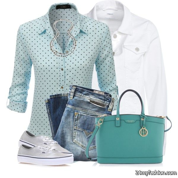 Women Over 60 Look Great In These Spring Casual Outfits 2019-2020
