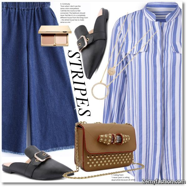 12 Ways To Make Striped Blouses Look Cute 2020-2021