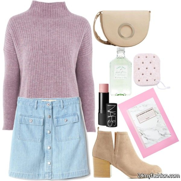 Casual Ways To Wear Skirts With Ankle Boots 2020-2021