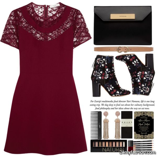 Dress With Ankle Boots For Special Events: How To Wear This Combination 2020-2021